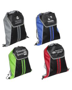 Center Line Drawstring Backpack