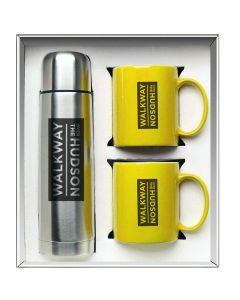 Yellow Hampton To Go Gift Set