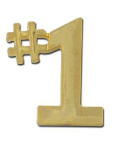 #1 Lapel Pin