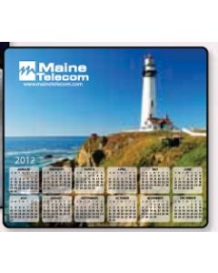 Soft Surface Calendar Mouse Pads - Stock Art Background F - Piggy Bank