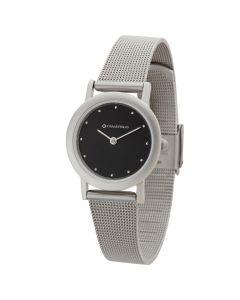 Watch Creations Women's Watch w/ Black Dial & Mesh Bracelet