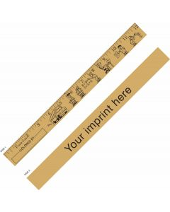 "Kids at School ""U"" Color Ruler"