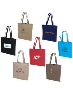 Natural Colored Cotton Tote Bag