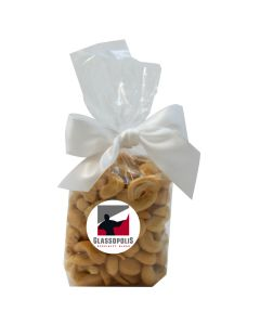 Clear Mug Stuffer Gift Bag with Cashews