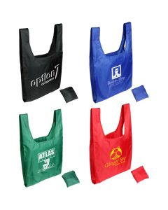 Tide Twister Folding Tote Bag