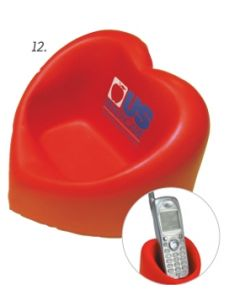 Valentine Heart Desktop Bin / Phone Holder