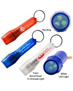 Twist & Light 3 LED Keylight (Overseas 8-10 Weeks)