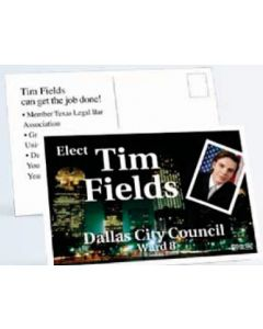 "Palm Card (4""x6"") - White 10 Point Card Stock"