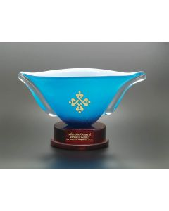 Azure Victory Art Glass Award