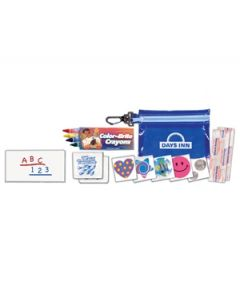 Clip 'N Go Kids Fun Kit w/ Crayons & Stickers (Spot Color)
