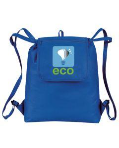 """""""eGREEN"""" Fold-Up Drawstring Cooler Backpack"""