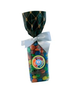 Black Diamonds Mug Stuffer Gift Bag with M&M's