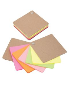 Recycled Cardboard Pivot Pad - Neon Colors (Blank)