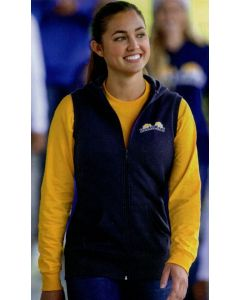 Sport-Tek Ladies Hooded Fleece Vest