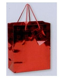 Metallic Red Gift Bag w/ Matching Gift Card/ Product Packaging Option