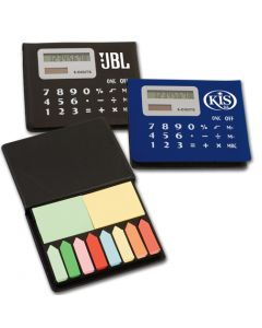 Calculator/ Sticky Note Pad
