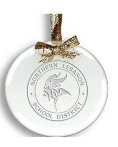 Clear Circle Ornament