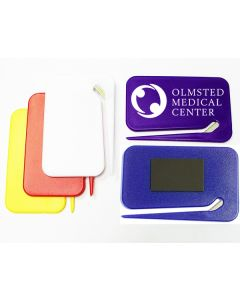 Jumbo Size Rectangular Letter Opener with Magnet