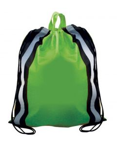 Non Woven Reflective Drawstring Backpack (Blank)