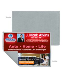"2-in-1 Microfiber Cleaning Cloth and Towel - 5""x7"" (Overseas 8-10 Wks.)"