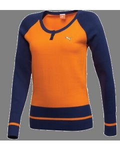 Puma Ladies Golf Henley Sweater