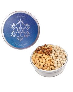 The Royal Tin with Mixed Nuts - Snowflake Design