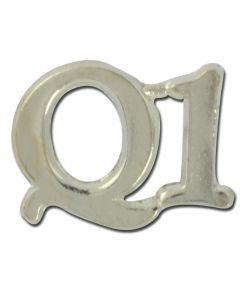 """Q"" Lapel Pin"