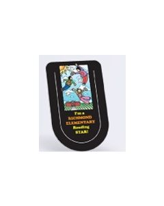 "Full Color Vinyl Plastic Bookmark w/ U Slit (2""x3 1/4""/ 0.015"" Thick)"