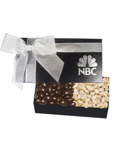 The Executive Silver Popcorn Box