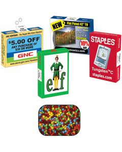 Advertising Mint, Candy & Gum Box Filled with 20 Chocolate Littles