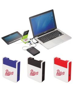 Rotate Mobile Phone Holder & USB Hub