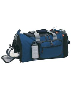 "24"" Extra Large Sports Bag w/ Shoe Compartment (24""x12""x10.25"") (Blank)"