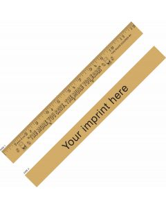 "More Your Save/ More You Earn ""U"" Color Ruler"