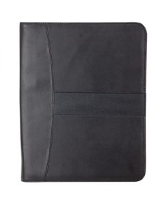 Letter Size Folio w/ Zippered Closure
