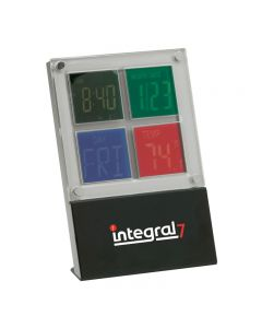 Variable Color Clock w/ Calendar & Thermometer Functions