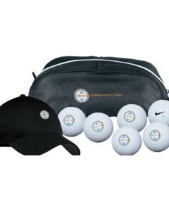 Nike Golf Shoe Tote/Cap/6 Ball Kit - NDX Heat Balls