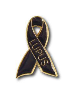 Lupus Awareness Ribbon Lapel Pin
