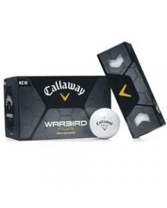 Callaway Warbird Plus Tee Off Dozen Golf Ball (7 Day Service)