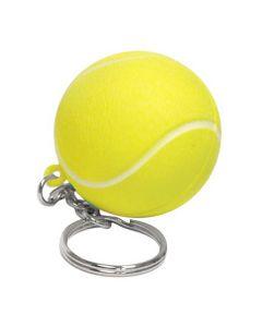 Tennis Ball Stress Reliever Keychain