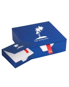 Cardboard Memo Pad Box (Printed)