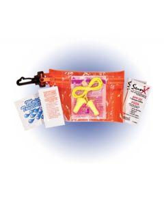 Clip 'N Go Race Kit w/ Sunblock & Lip Balm (Full Color Digital)
