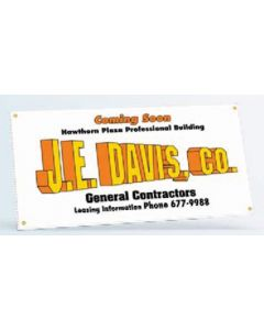 "Large Format Stock Size Corrugated Plastic Sign (24""x48"")"
