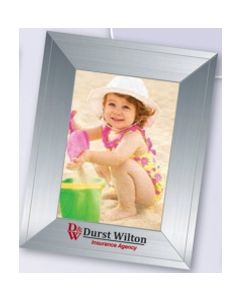 Contemporary Silver Small Photoframeables Photo Frame Decal
