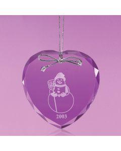 Lebanon Heart Shaped Ornament