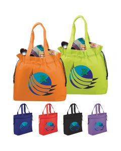 The Shell Cinch Tote Bag