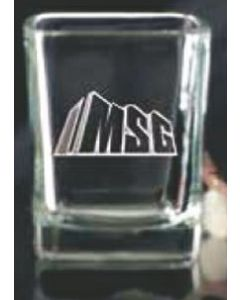 2.25 Oz. Square Shot Glass