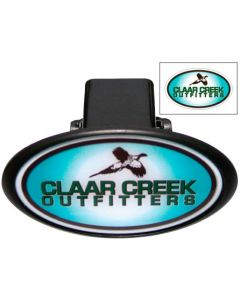 Hitch Covers w/Laminated Decal - Oval
