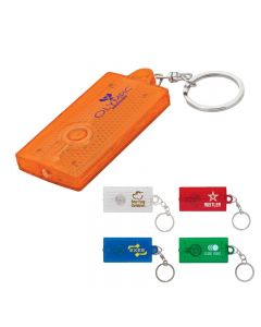 Reflector Light Key Ring