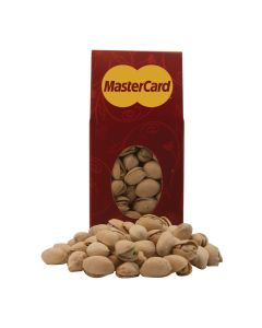 Red Designer Treat Box with Pistachios