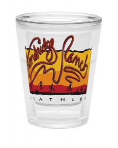 1.75 Oz. Vivid Print Tapered Shot Glass